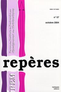 Michel Chevallier - Repères - IREM N° 54, Octobre 2004 : .