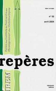 Patrick Guyot et Guy Brousseau - Repères - IREM N° 55, Avril 2004 : .
