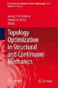 Topology Optimization in Structural and Continuum Mechanics.