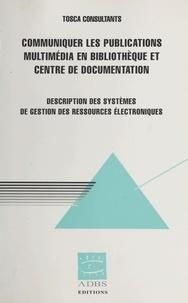Tosca Consultants et Marc Maisonneuve - .