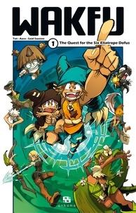 Tot et  Azra - WAKFU MANGA - Tome 1 : The Quest for the Six Eliatrope Dofus.