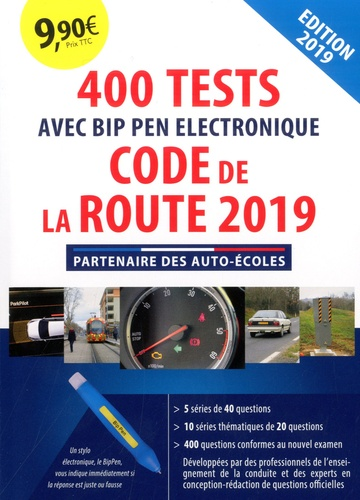 400 Tests Code De La Route Avec Bip Pen Electronique Grand Format