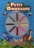 Toucan - Le Petit Dinosaure - Ton kit coloriage.