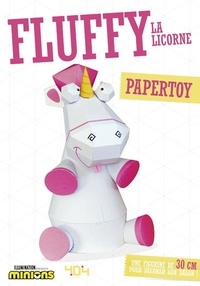 Tougui et  Illumination Entertainment - Papertoy Moi, moche et méchant Fluffy la licorne.
