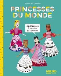 Princesses du monde - 4 princesses à monter et à décorer.pdf
