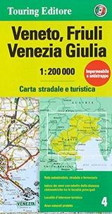 Touring Club Italiano - Veneto, Friuli, Venezia Giulia - 1/200 000.
