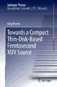 Towards a Compact Thin-Disk-Based Femtosecond XUV Source.