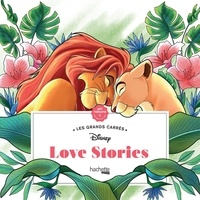 Tracy Sousa - Les grand carrés Love stories - 45 coloriages anti-stress.