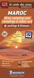 Trailer's Park - Maroc, aires camping-cars, campings et relais 4x4, parkings et bivouacs - 1/1 000 000.