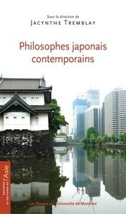 Tremblay, Jacynthe (dir.) - Sociétés et cultures de l'Asie  : Philosophes japonais contemporains.