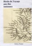 Christian Müller et André Grasset-Saint-Sauveur - Récits de voyage aux Iles ioniennes - CD-ROM.