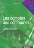 Trésor Public - Les comptes des communes 2001 - Synthèse nationale.