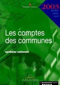Les comptes des communes 2003 - Synthèse nationale.pdf