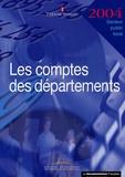 Trésor Public - Les comptes des départements.