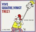 Trez - Vive Quatre-vingt-trez ! - Dessins 1988-1989.