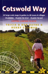 Tricia Hayne et Bob Hayne - Cotswold Way - Chipping Campden to Bath.