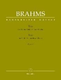 Trio für Violine, Violoncello und Klavier op. 87 - Partitur und Stimmen.