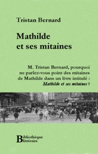 Tristan Bernard - Mathilde et ses mitaines.