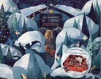 Tristan Gion - Pop-up mon calendrier de l'avent - Que fabriquent les lutins dans l'atelier du Père Noël ? Avec 1 livre d'énigmes et 1 calendrier à fenêtres.