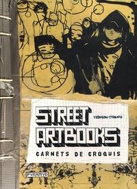 Tristan Manco - Street Artbooks - Carnets de croquis.