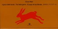 Enzo Mari - Jeu des fables - Edition italien-anglais-espagnol-japonais.