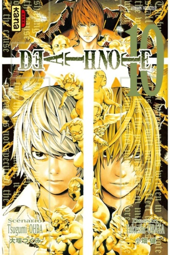 Death Note Tome 10 - 9782505043713 - 4,49 €
