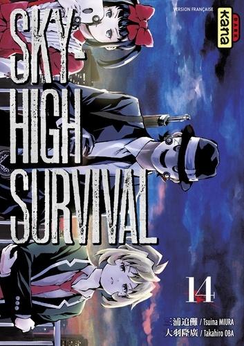 Tsuina Miura et Takahiro Oba - Sky-high survival - tome 14.