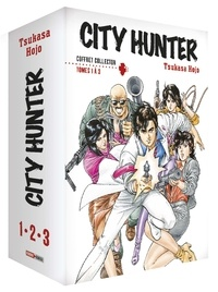 Tsukasa Hojo - City Hunter  : Coffret en 3 volumes : Tomes 1 à 3 - Avec 3 illustrations.