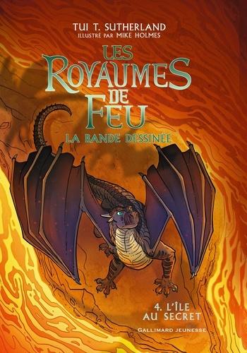 Les royaumes de feu - La bande dessinée Tome 4 L'île au secret