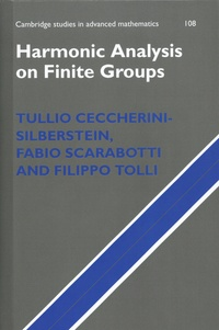 Tullio Ceccherini-silberstein et Fabio Scarabotti - Harmonic Analysis on Finite Groups - Representation Theory, Gelfand Pairs and Markov Chains.