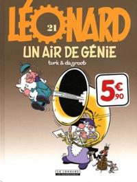 Turk et  De Groot - Léonard Tome 21 : Un air de génie.