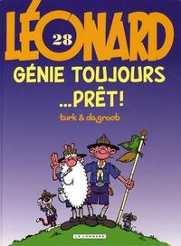 Turk et  Degroot - Léonard Tome 28 : Genie toujours... prêt !.
