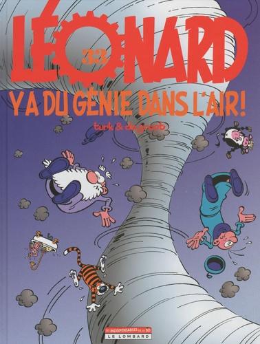 Turk et  Degroot - Léonard Tome 33 : Ya du génie dans l'air !.
