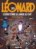 Turk et  Degroot - Léonard Tome 35 : Le génie donne sa langue au chat.