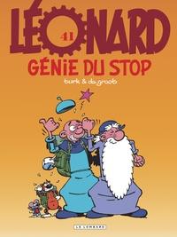 Turk et Bob De Groot - Léonard Tome 41 : Génie du stop.
