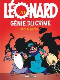 Turk et  Zidrou - Léonard Tome 51 : Génie du crime.