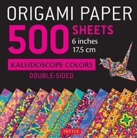 Tuttle - 500 Sheets Kaleidoscope Colors - Double-Sided.