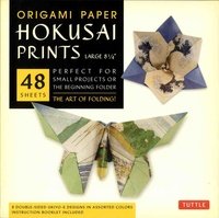 Tuttle - Hokusai Prints - 48 sheets perfect for small projects or the beginning folder.