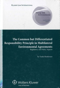 Accentsonline.fr The Common But Differentiated Responsibility Principle Multilateral Environmental Agreements - Regulatory and Policy Aspects Image