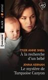 Tyler Anne Snell et Jenna Kernan - A la recherche d'un bébé ; Le mystère de Turquoise Canyon.