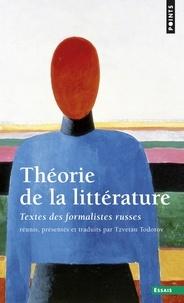 Tzvetan Todorov - Théorie de la littérature - Textes des formalistes russes.