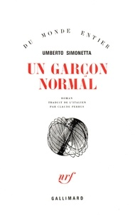 U Simonetta - Un garçon normal.