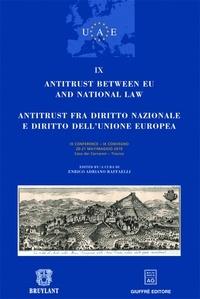 UAE - Conférence Antitrust between eu and national law - Volume IX.