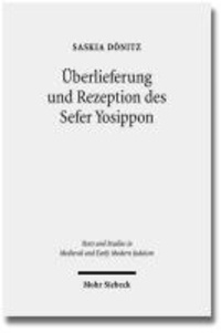 Überlieferung und Rezeption des Sefer Yosippon.