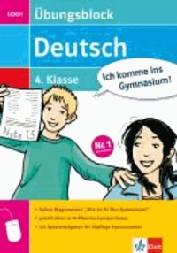 Übungsblock Deutsch 4. Klasse - mit Online-Diagnosetest.