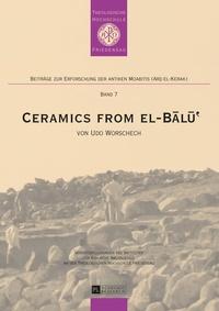 Udo Worschech - Ceramics from el-B?l??.
