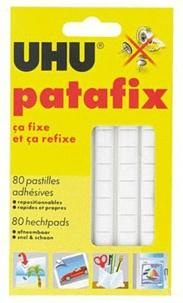 UHU - Patafix - 80 pastilles adhésives blanches