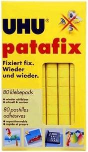 UHU - Patafix - 80 pastilles adhésives jaunes