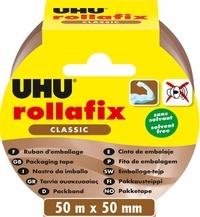 UHU - Rollafix ruban d'emballage brun 50mm*50mm