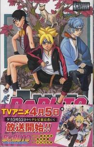 Ukyô Kodachi et Mikio Ikemoto - Boruto - Naruto Next Generations Tome 1 : .
